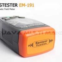 Jual Alat Uji Medan Magnet Gauss Meter EM-191   Magnetic Field Meter EM-191 Murah