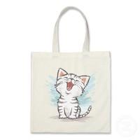 tote bag custom gambar ilustrasi animal 8