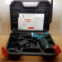 Cordless Screwdriver Merk MODERN (Battery 2 Pcs)