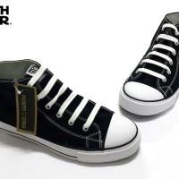 North Star 6031/2 - Sepatu Kets Tali Unisex - Tinggi/Pendek - Hitam
