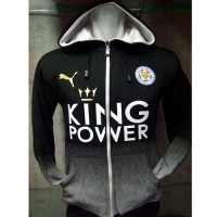 Hoodie LEICESTER CITY King Power Bank Masker Wajah TV #Elektronik