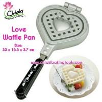 harga Love Waffle Pan Cetakan Waffle Maker Heart Sandwich Pancake Loyang Tokopedia.com