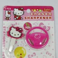 Rautan & Penghapus Pensil Hello Kitty Unik
