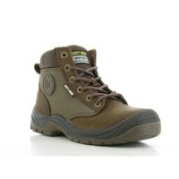 Jual Safety Jogger Safety Shoes DAKAR Brown S3 Safetyjogger New Murah