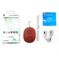 harga Optimuz Speaker Bluetooth Mini Dome Desain Warna Dove - Merah Tua Tokopedia.com