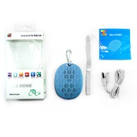 harga Optimuz Speaker Bluetooth Mini Dome Suara Jernih - Biru Tokopedia.com