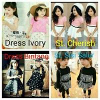 Promo Dress & Stelan anak perempuan / Sale kids fashion