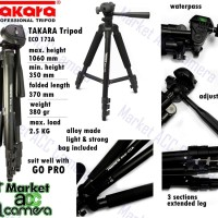 TRIPOD TAKARA ECO-173A for Camera SLR/DSLR, Sport, Pocket