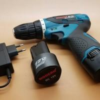Cordless Drill Merk MODERN (Li-on Battery 12v)