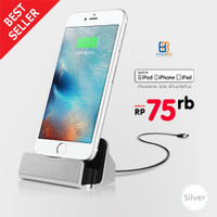 harga SILVER Dock Charger iPhone 6s 5 5c 5s / iPad Mini / iPod Touch 5 Tokopedia.com