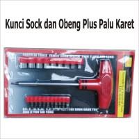 """Kunci Sok Dan Obeng Plus Palu Karet """" Good Quality"""""""