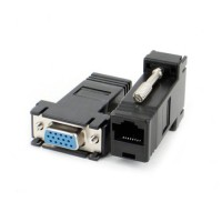 Connector VGA Female to RJ45 Conector extender Konektor adapter AJ87