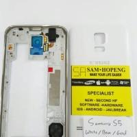 Samsung S5 Casing + Bezel + Backdoor / Tutup Belakang + Frame + Case