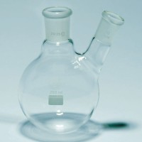 Boiling Flask Two Neck Pyrex 100-1000 mL