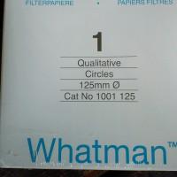 Kertas filter whatman No. 1 diameter 125mm