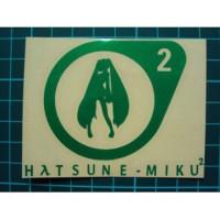 DM110 STICKER HATSUNE MIKU GREEN