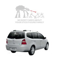 Sticker Nobody Cares About Your Stick Family 003