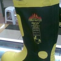 harvik safety fire ranger shoes sepatu boot pemadam kebakaran.