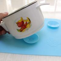 harga tatakan alas mangkok bayi anti tumpah Magically Absorptive piring anak Tokopedia.com