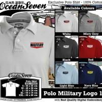 harga Kaos Polo Military Logo 1 Distro Militer Shirt Baju Kerah Tentara TNI Tokopedia.com
