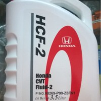 oli Honda CVT Fluid-2 / HCF-2 untuk transmisi CVT mobil Honda isi 3.5L