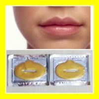 Masker Bibir Gold Crystal Collagen Lip Mask