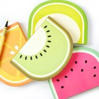 Summer Fruits Hardcover Notebook / Buku Tulis Catatan Unik Lucu Murah
