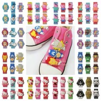 Aksesoris Tali Sepatu Anak Kids Shoelaces Frozen Hello Kitty StarWars