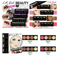 Jual LA GIRL BEAUTY BRICK EYESHADOW and BLUSH COLLECTION Murah