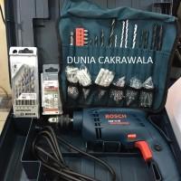 Bor Beton / Tembok 10 Mm Bosch Gsb 10 Re Box (Extra 100 Pcs Accessorie