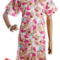 Baju Tidur Sunly / Daster Tangan - Full Kancing