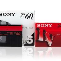Kaset Sony Mini DV 60 menit