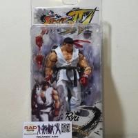 Action figure ryu street fighter neca toys mainan
