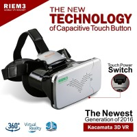 Jual Riem 3 VR Box Cardboard - Kacamata 3D Virtual Reality Murah
