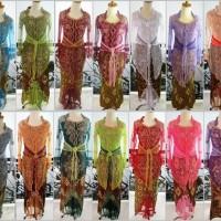 Jual Baju Kebaya Modern lengan panjang tile wisuda pesta muslim shanghai Murah