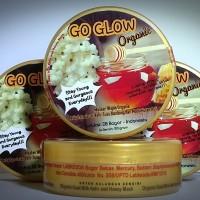Jual Go Glow Organic Mask Masker Kefir Susu Kambing Madu Organik Wajah 100g Murah