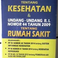 Harga uu ri no 36 2009 tentang | WIKIPRICE INDONESIA