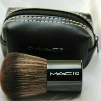 MAC 182 BRUSH . KABUKI MAC (DOMPET KUAS KOIN)