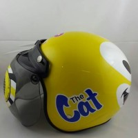 harga helm anak JP RETRO The Cat Yellow Lemon Tokopedia.com