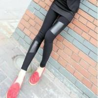 Legging Latex Combi