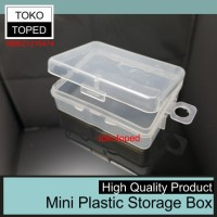 Mini Plastic Storage Box | for kanthal coil, seal, baut/mur, plastik