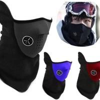 harga Motorcycle Ski Half Face Mask Masker Motor Masker Air soft Gun ninja Tokopedia.com