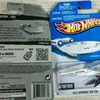 HOT WHEELS U.S.S. ENTERPRISE NCC-1701 STAR TREK
