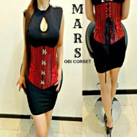harga obi corset mars merah Tokopedia.com