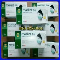 OneMed Masker 3 Ply EarLoop Jilbab Masker Jilbab