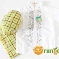 Baju Koko Lengan Pendek Merk Orange