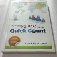 harga Aplikasi Spss Dalam Quick Count +cd Tokopedia.com