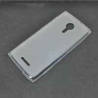 Tpu Case For Alcatel One Touch Flash 2 - Transparent