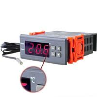 Jual AC 220V Digital Thermostat Thermometer Temperature Control Controller Murah