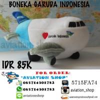 Boneka Pesawat Garuda Indonesia Lion Air Batik Air Citilink
